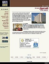 Franklin Marriott Home Page Screenshot
